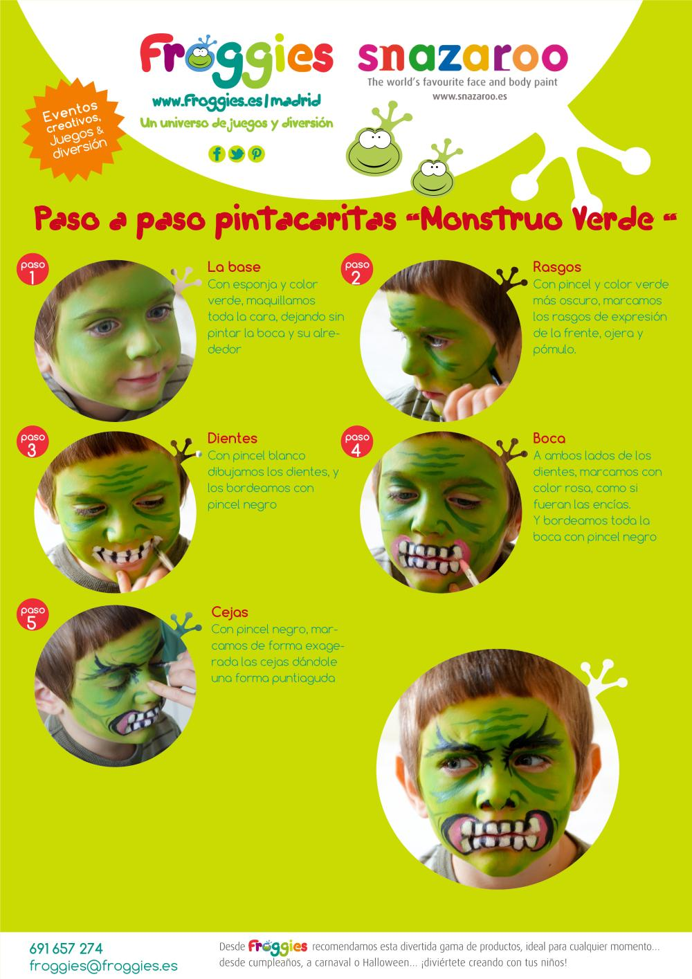 Pintacaritas Monstruo