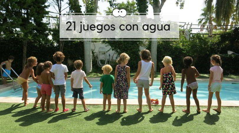 21 juegos con agua para empezar el verano con toda la familia