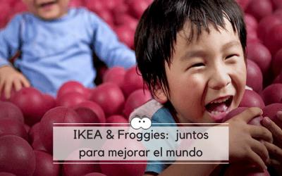 IKEA y Froggies, juntos para mejorar el mundo