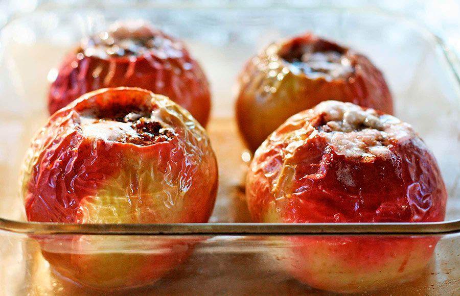 Recetas divertidas con frutas: manzanas asadas